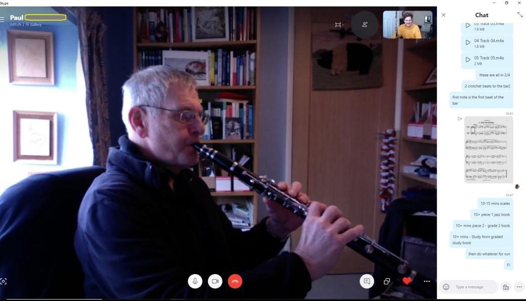 Music Lessons for Skype